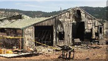 bmhs burned wreckage