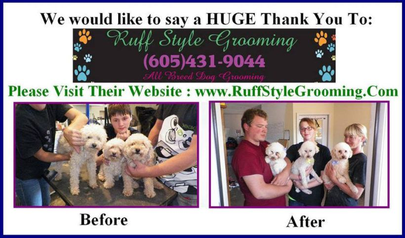 ruff grooming thank you