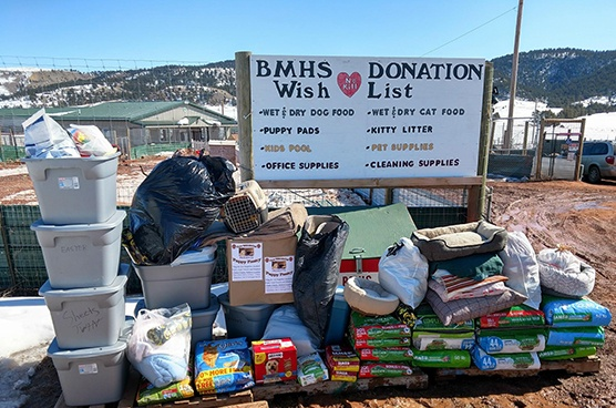 bmhs donation pile